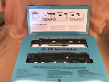 Proto 2000 Ho E-6A locomotive, Atlantic Coast Line Black # 517