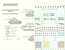 Microscale Decals 1/72 WWII Russian & Cold War Polish Markings & Insignia