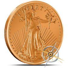 1 oz Copper Round - Saint Gaudens