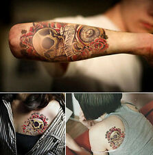 Tattoo `Skull` Temporary Einmal Flash Henna Armband Body tatsk Halloween