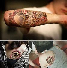 Tattoo `Skull` Temporary Einmal Flash Henna Armband Body tatsk Halloween