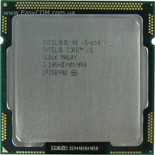 Intel Core i5-650 Processor 3.20 GHz 4 MB Cache Socket LGA1156 cpu
