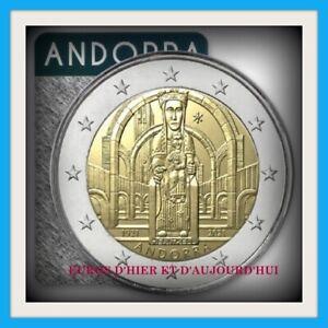 COINCARD 2€ ANDORRE 2021 100ème anniversaire couronnement Notre Dame Méritxell