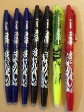 Pilot FriXion Pen ( Blue , black , Pink ) Set Bundle Joblot Highlighter