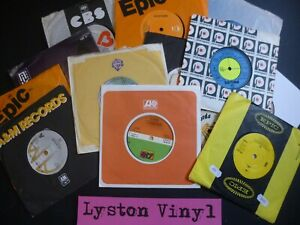 """Instant 80's Starter Record Collection 20 x 7"""" Vinyl Records In Good & Good+ Cdn"""