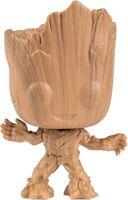 Marvel Guardians of The Galaxy Groot Wood Deco Pop! Vinyl Figure - Entertainm...