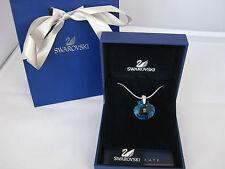 Swarovski SCS retired blue shell Eternity necklace 856128 wedding birthday prom