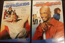 MY WIFE & KIDS SEASON 1 & 2 OOP RARE DELETED DVD REGION 1 NTSC TV SERIES SHOW
