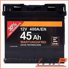 ENVA 45Ah 400A 12V AUTOBATTERIE STARTERBATTERIE PKW-BATTERIE 32124146