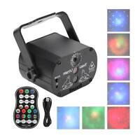 60 Patterns LED Laser Projector Light RGB Disco DJ Party Bar Club Stage Lighting