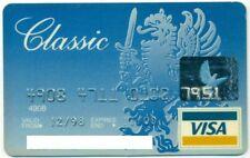 LATVIA VISA CLASSIC BANK CARD KRAJBANKA 1998 EXPIRED, RARE