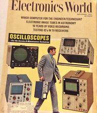 Electronics World Magazine Oscilloscopes Image Tubes November 1971 072517nonrh