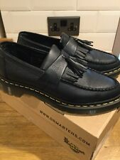 Doc Martens Adrian Virginia Soft Black Leather Ladies Shoes Uk7/41 Stunning