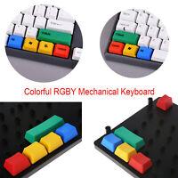 Bunt RGBY Mechanisch Tastatur Tastenkappen PBT Buttons Ersatz für RGBY Cherry