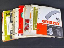 Lot 20 Assorted Vintage 1960's Auto Parts Dealer Catalogs Oil Seals Plugs & More