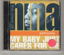(HK744) The Best of, Nina Simone - 1997 CD
