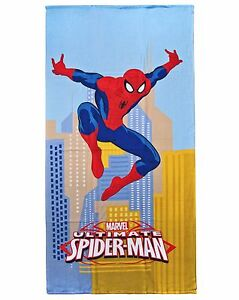 TELO MARE Microfibre Spiderman 70x140 Original Marvel Piscine Plage Enfants