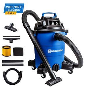 Vacmaster 5-8 Gallon Shop Vac Wet Dry Vacuum Cleaner Car Carpet Vacume Blowing