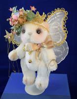 Fairy Bear with Stand OOAK  Fairy Bear 1990s Handmade Artisan