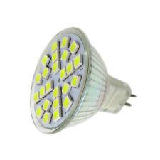 MR16 G5.3 GX5.3 GU5.3 Bombilla LED 12-24V 24-5050 SMD Luz Blanca/Taza de luz cálida