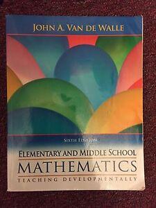 Elementary and Middle School Mathematics Teaching Developmentally - Van de Walle