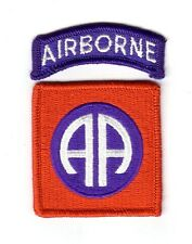 "82nd AIRBORNE DIVISION ""Patch & Tab"" (Fabrication Actuelle)"