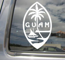 Guam Island Seal - Chamorro Chamoru Native - Vinyl Die-Cut Decal Sticker 07101
