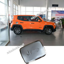 For Jeep Renegade 2016-2019 Stainless Car External Gas Cap Fuel Tank Cover Trim