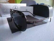 Gafas de sol Mercedes Benz aviador polarizadas NEGRAS