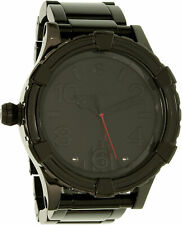 Nixon Men's 51-30 SW Vader Black A172SW2244 Stainless-Steel Plated Japanese Q...