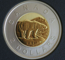 2018 Canada $2 Bimetallic toonie Specimen finish from set - COIN ONLY - in stock