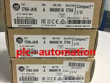 *Ship Today* 2016/2017 Allen Bradley 1769-IA16 Input Module 16 Pt *Sealed*