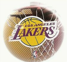 Los Angeles Lakers NBA Team Basketball Button Pin