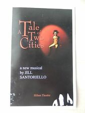 2008 - Hilton Theatre Playbill - A Tale Of Two Cities - James Barbour - Powers