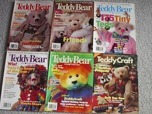 Teddy Bear & Friends  5 issues 1999 + TBF. Craft supplement