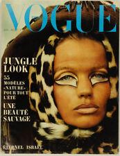 VERUSCHKA Courreges FRANCO RUBARTELLI Jean Loup Sieff PARIS VOGUE magazine VTG