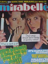 MIRABELLE MAGAZINE 1ST NOV 1974 - STEVE HARLEY - SPARKS