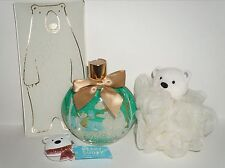 BATH & BODY WORKS Bear 4-Pc Set Body Wash,Shower Puff,Hook & Plate New with Tags