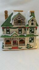 Lefton BURNSIDE Colonial Christmas Village 00717 Holiday  1992 C2