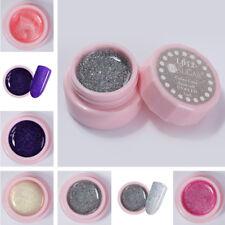 5Pcs Soak Off UV Gel Polish Holographic Glitter Sparkly LED Nail Art UR SUGAR