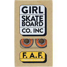 Girl Skateboard Bearings Faf precision speed