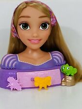 Disney Rapunzel Toy Doll Head and Shoulders Hair Style with Accessories