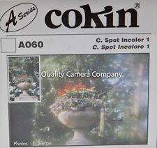 "COKIN ""A"" SERIES A060 C SPOT INCOLOR 1 FILTER - SHARP CENTER DIFFUSE EDGES - NOS"