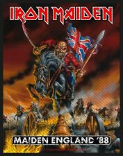 IRON MAIDEN - Patch Aufnäher - Maiden england 10x8cm