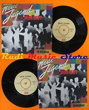LP 45 7'' NEUE JUGEND Nur mut In weimar 1982 italy EMI 3C 006-46619 cd mc dvd *