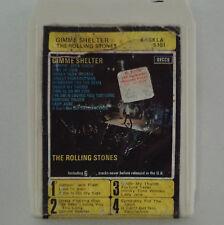 ROLLING STONES Gimme Shelter 8 TRACK Rare!! Original AUSTRALIA Cartridge TAPE