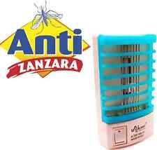 Lampada da notte antizanzare.Zanzariera elettrica contro mosche,zanzare.Luce blu