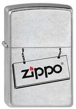PREIS-KNÜLLER!!! ZIPPO Feuerzeug ZIPPO SIGN Schild Logo NEU OVP Sammlerstück!!