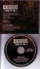 3 DOORS DOWN Here By Me PROMO DJ CD single three 2005