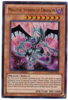 YUGIOH • Malefic Stardust Dragon ULTRA RARA HOLO JUMP-EN043 PROMO NMINT